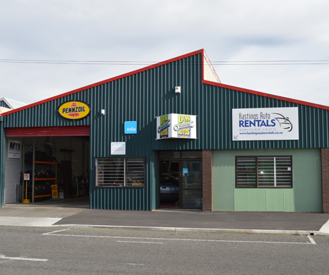 Hastings Auto Rentals Premises